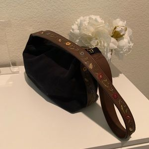 Relic Embroidered Shoulder Bag